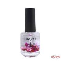 Масло для кутикулы Naomi цветочное, Роза, 15 мл