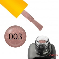 База камуфлирующая каучуковая для гель-лака LEO Cover Rubber Base 003, 9 мл