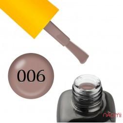 База камуфлирующая каучуковая для гель-лака LEO Cover Rubber Base 006, 9 мл