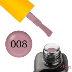 База камуфлирующая каучуковая для гель-лака LEO Cover Rubber Base 008, 9 мл