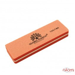 Бафік Global Fashion 100/180 міні, прямокутний, колір помаранчевий