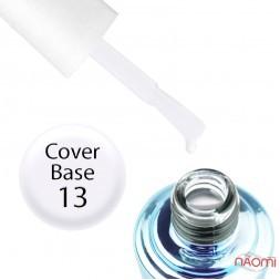 База камуфлююча для гель-лаку Elise Braun Cover Base Coat 13, 15 мл