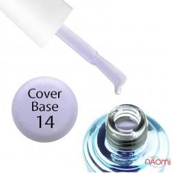База камуфлирующая для гель-лака Elise Braun Cover Base Coat 14, 15 мл