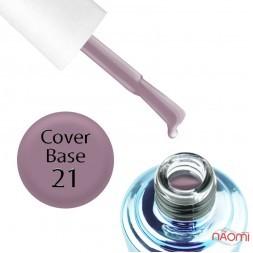 База камуфлирующая для гель-лака Elise Braun Cover Base Coat 21, 15 мл