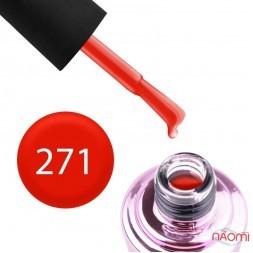 Гель-лак Elise Braun 271 яркий красный, 10 мл