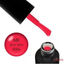 Гель-лак F.O.X Masha Efrosinina 016 Best Red малиново-рожевий неон, 5 мл