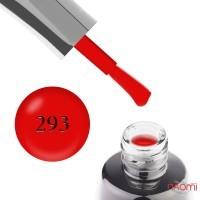 Гель-лак LUXTON 293 яркий красный, 10 мл