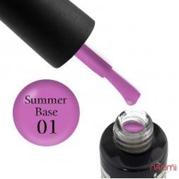 База цветная Oxxi Professional Summer Base 001 розовый, 10 мл