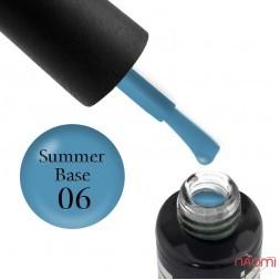 База цветная Oxxi Professional Summer Base 006, голубой, 10 мл