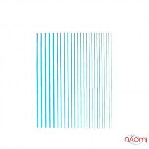 Гнучка стрічка для нігтів Joyful Nail, колір блакитний