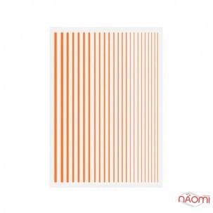 Гнучка стрічка для нігтів Joyful Nail, колір помаранчевий
