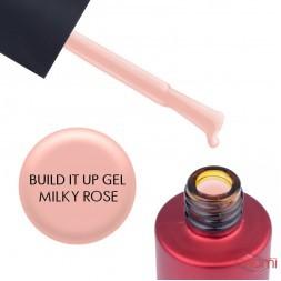 Гель моделюючий Kodi Professional Build It Up Gel Milky Rose з пензликом, 15 мл