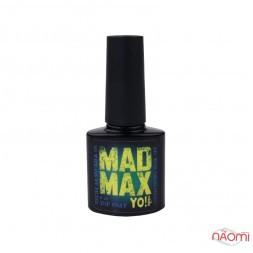 Топ для гель-лака без липкого слоя Yo Nails Mad Max Top Coat с УФ фильтром, 8 мл