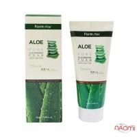 Пенка для умывания Farmstay Aloe Pure Cleansing Foam увлажняющая с экстрактом алоэ, 180 мл