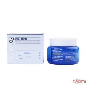 Крем для лица Farmstay Collagen Water Full Moist Cream увлажняющий с коллагеном, 100 г