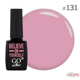 Гель-лак GO Active 131 Belamour Believe in Yourself мягкий розовый, 10 мл