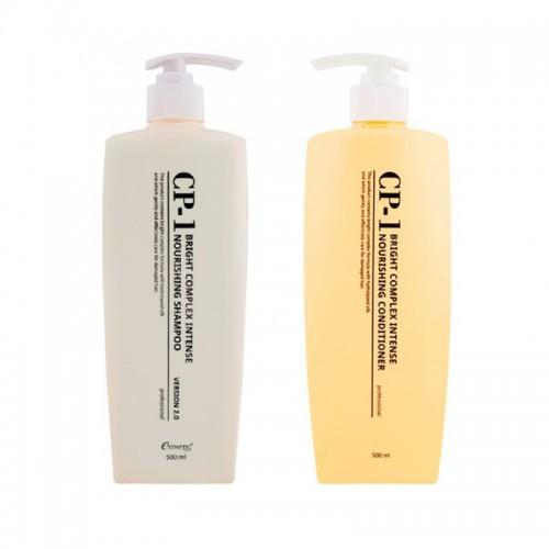 Набор для волос CP-1 Bright Complex Intense Nourishing, шампунь и кондиционер, 2x500 мл, фото 1, 572.00 грн.