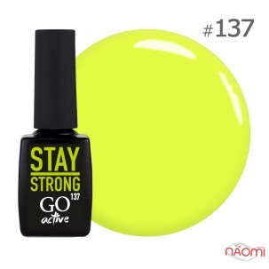 Гель-лак GO Active 137 Energy Stay Strong соковитий лимон-лайм, 10 мл