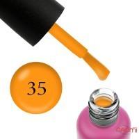 База цветная Edlen Professional French Rubber Base 35, оранжевый, 9 мл