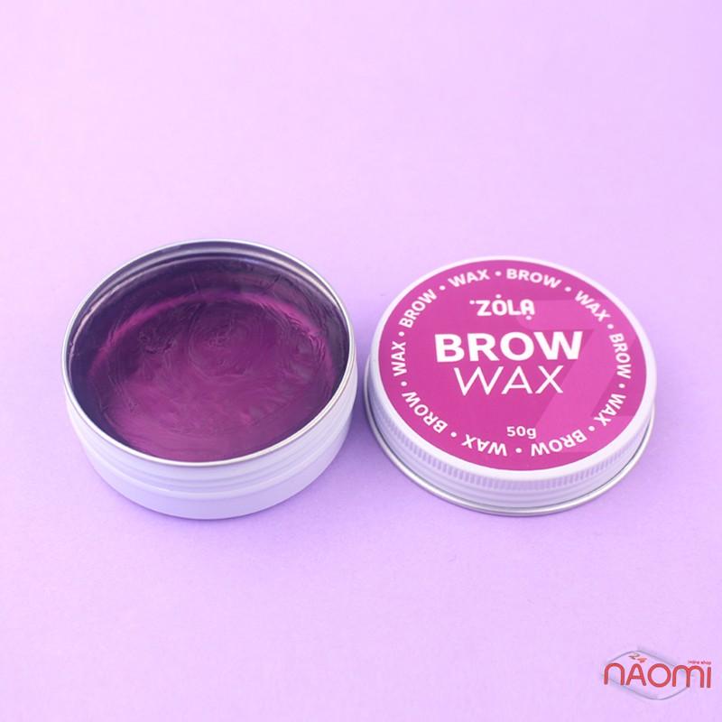 Воск для укладки бровей ZOLA Brow Wax, 50 г, фото 3, 225.00 грн.