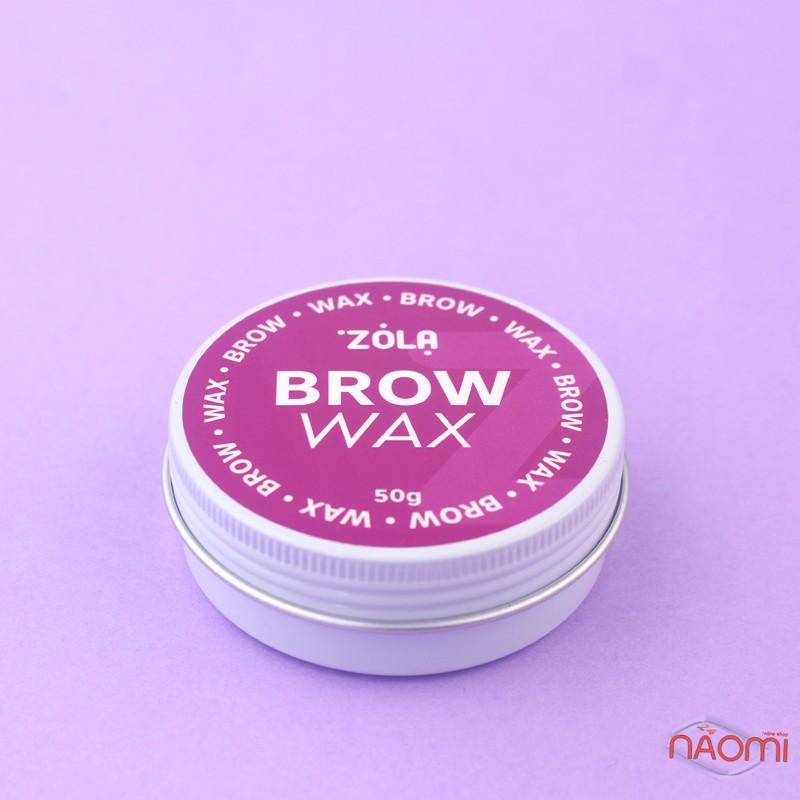 Воск для укладки бровей ZOLA Brow Wax, 50 г, фото 2, 225.00 грн.