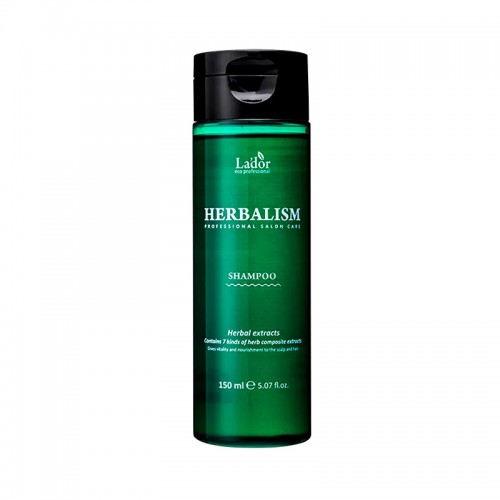 Шампунь против выпадения волос La.dor Herbalism Shampoo успокаивающий с травяными экстрактами, 150 мл, фото 1, 201.00 грн.
