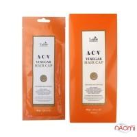 Маска-шапочка для блеска волос La.dor ACV Vinegar Hair Cap с яблочным уксусом, 30 г