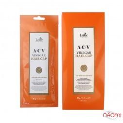 Маска-шапочка для блиску волосся La.dor ACV Vinegar Hair Cap з яблучним оцтом, 30 г