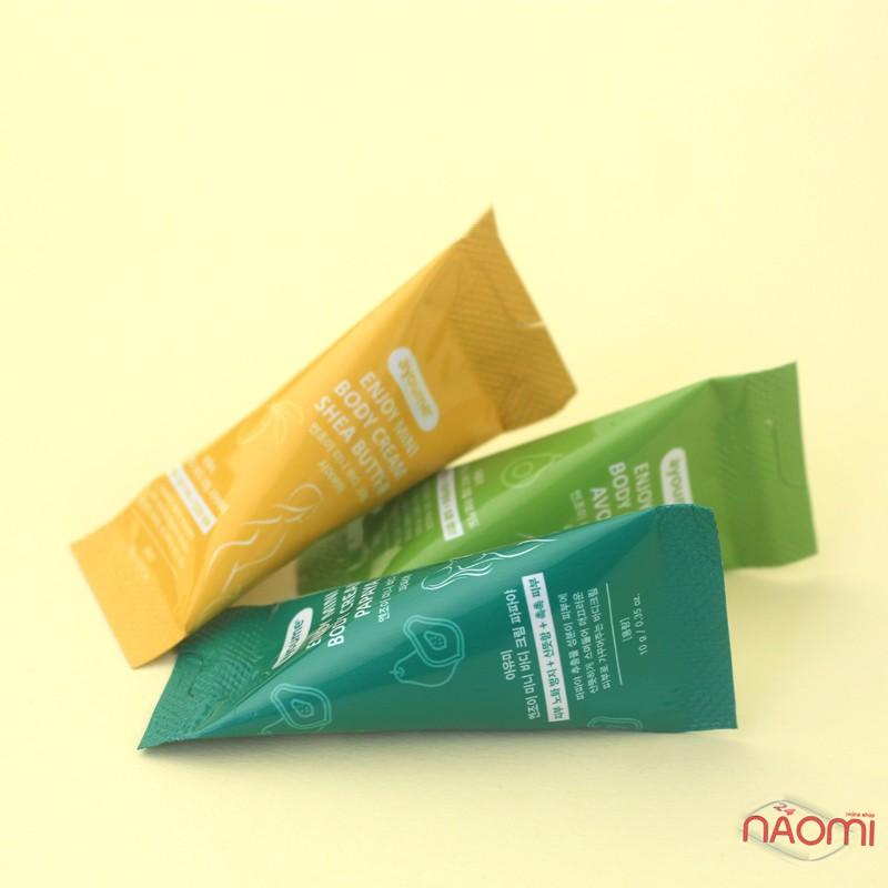 Крем для тела Ayoume Enjoy Mini Body Cream Avocado с авокадо, 10 г, фото 2, 13.00 грн.