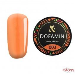 База неоновая F.O.X Base Dofamin 003, яркий оранжевый, 10 мл