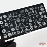 Пластина для стемпингу RichColoR 082 Подорож по світу
