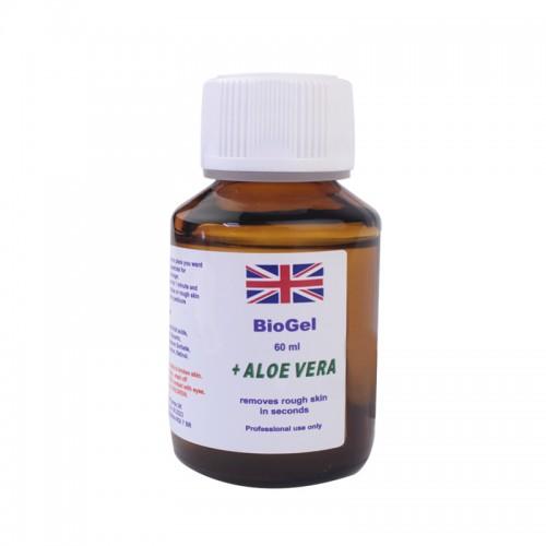Ремувер кислотный для педикюра BioGel Aloe Vera, 60 мл, фото 1, 35.00 грн.