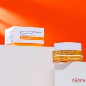 Крем для обличчя Dr. Some Galactomy Whitening + Ampoule Cream освітлюючий з екстрактом галактомісіса і ніацинамідом, 50 мл