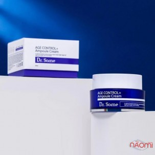 Крем для лица Dr. Some Age Control + Ampoule Cream антивозрастной с ретинолом и коллагеном, 50 мл