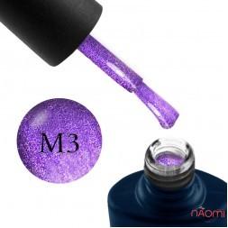 Гель-лак NUB Mystery 9D 03 Universe фиолетовый с бликом, 8 мл