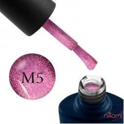 Гель-лак NUB Mystery 9D 05 Coral розовый с бликом, 8 мл