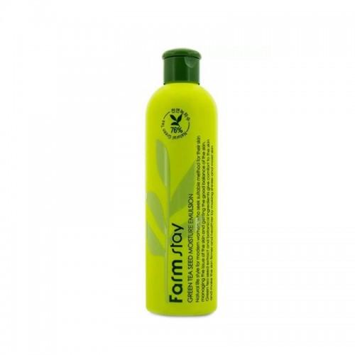 Тонер для лица Farmstay 76 Green Tea Seed Moisture Toner увлажняющий c экстрактом семян зеленого чая, 300 мл, фото 1, 247.00 грн.