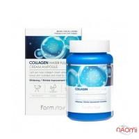 Крем ампульний Farmstay Collagen Water Full Moist Ampoule Cream з колагеном, 250 мл