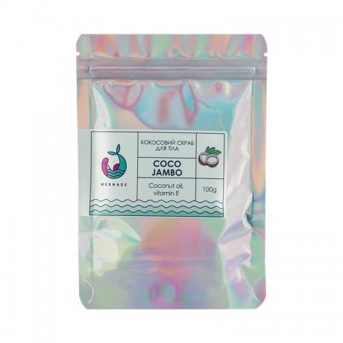 Скраб солевой для тела Mermade Coco Jambo, кокосовый, 100 г, фото 1, 99.00 грн.