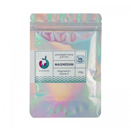 Скраб солевой для тела Mermade Magnesium, магниевый, 100 г, фото 1, 99.00 грн.
