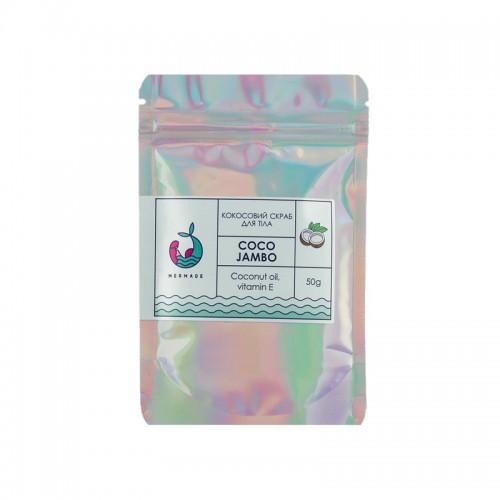 Скраб солевой для тела Mermade Coco Jambo, кокосовый, 50 г, фото 1, 59.00 грн.