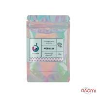Скраб солевой для тела Mermade Mermaid, свежий парфюмированный аромат, с шиммером, 50 г