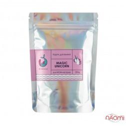 Пудра для ванны Mermade Magic Unicorn, зефир, 200 г