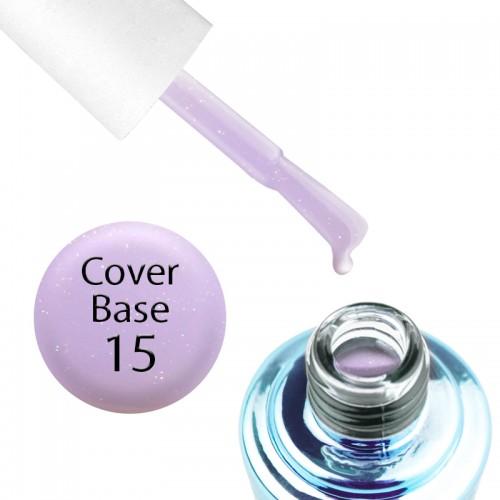 База камуфлирующая для гель-лака Elise Braun Cover Base Coat 15, 15 мл, фото 1, 245.00 грн.