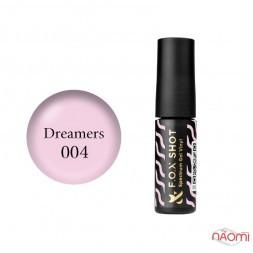 Гель-лак F.O.X Shot Spectrum Gel Vinyl 004 Dreamers, ніжний рожевий, 5 мл