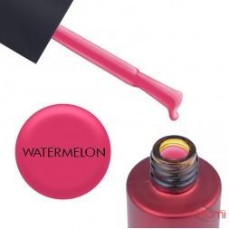 База кольорова Kodi Professional Color Rubber Base Gel Watermelon, насичений червоний, 7 мл