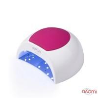 УФ LED лампа светодиодная SUNUV Sun 2C White 48 Вт, таймер 10, 30, 60 и 99 сек, цвет белый с цветной накладкой