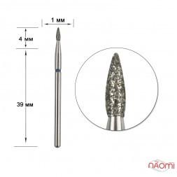 Насадка с алмазным напылением 257.016B, для обработки кутикулыв маникюре, педикюре