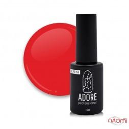 Гель-лак Adore Professional 186 Scarlet алый красный, 7,5 мл