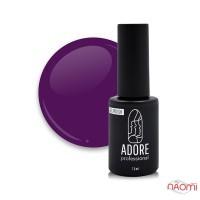 Гель-лак Adore Professional 265 Violet баклажановый фиолет, 7,5 мл